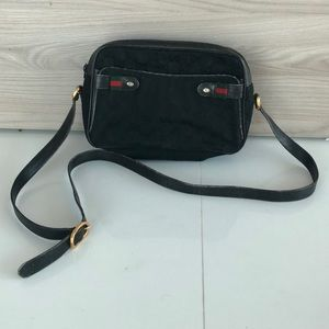 Black Gucci Cross Body